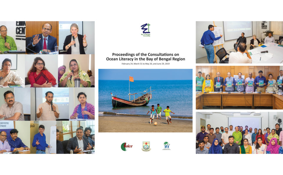 RESOURCE: Proceedings of Consultations on Ocean Literacy in Bay of Bengal Region